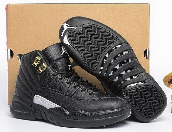 Womens Air Jordan Retro 12 Black Best Price
